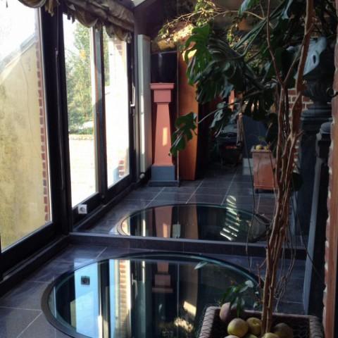 Dalle de sol en verre sur mesure villeneuve d 39 ascq pr s for Prix dalles de sol en verre