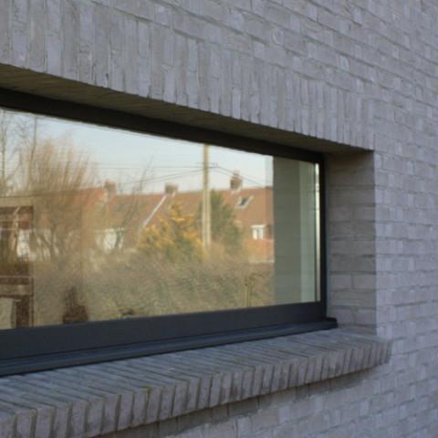 Pose Dune Fenêtre Vitrage Isolant Double Vitrage Sur Mesure à